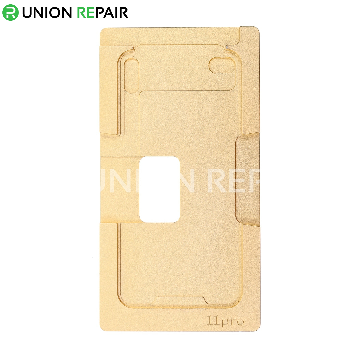Aluminum Mould with Silicone Mat Mold Laminator for iPhone 11 Pro