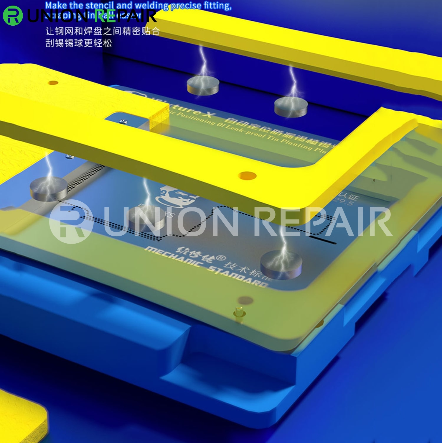 Mechanic iFixture X X11 5D BGA Automatic Positioning Platform for iPhone X/Xs/XsMax/11/11Pro/11ProMax
