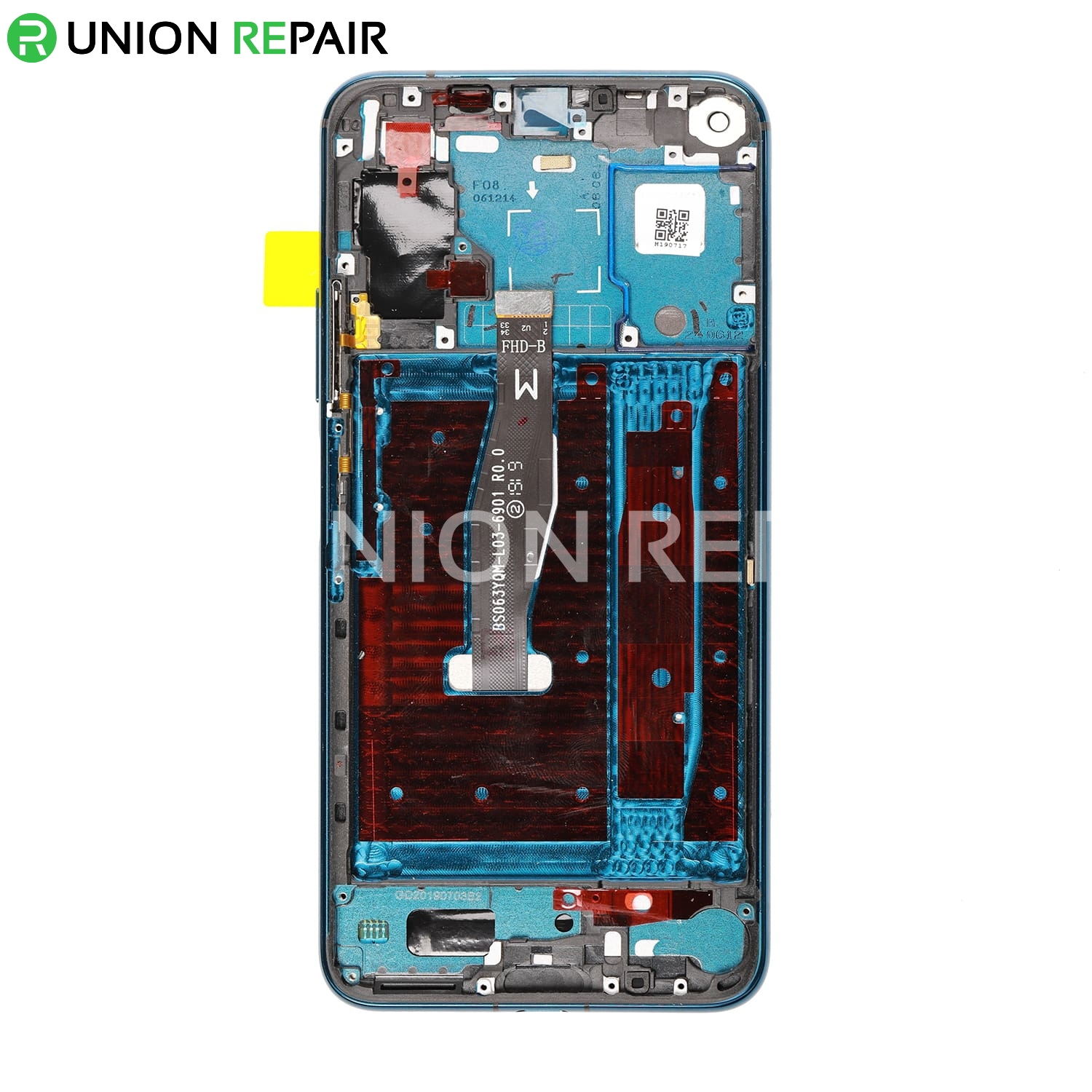 Replacement for Huawei Honor 20 Pro LCD Screen Digitizer Assembly with Frame - Phantom Blue