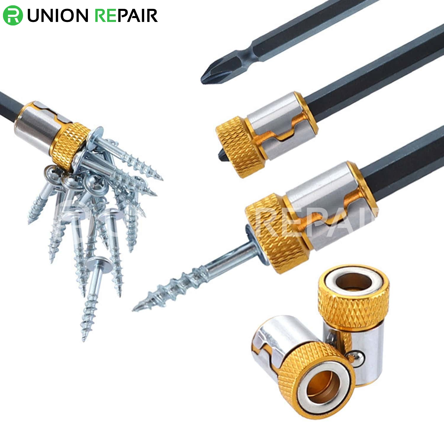 Universal Magnetic Metal Ring Pick Up Tool For Screwdriver