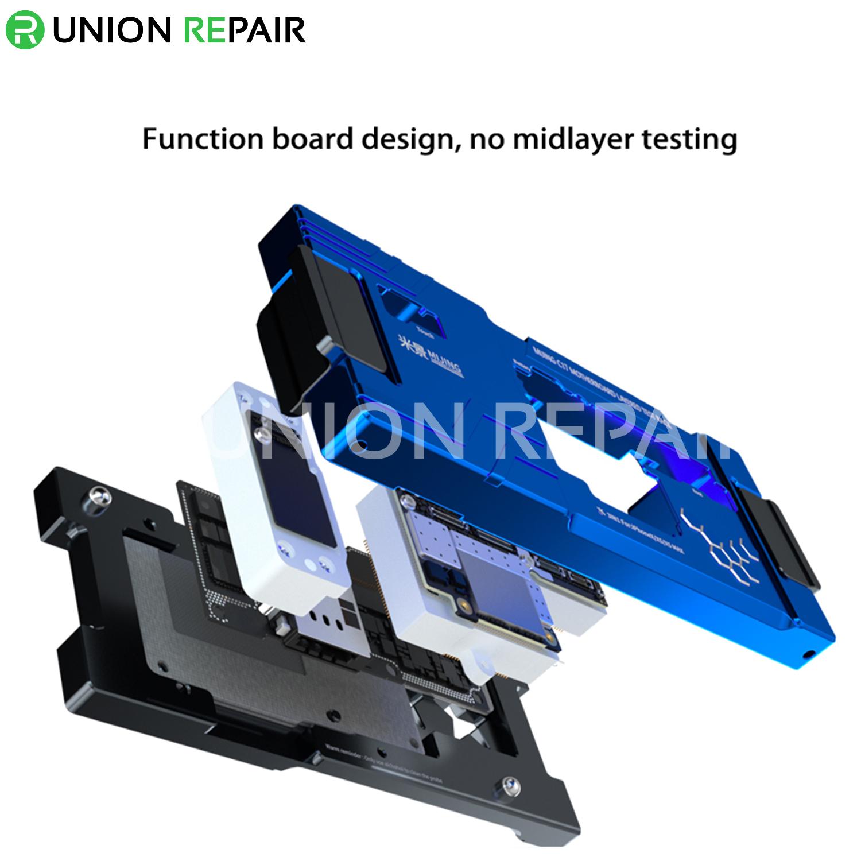 MiJing C17 for iPhone X/XS/XS Max Main Board Function Testing Fixture