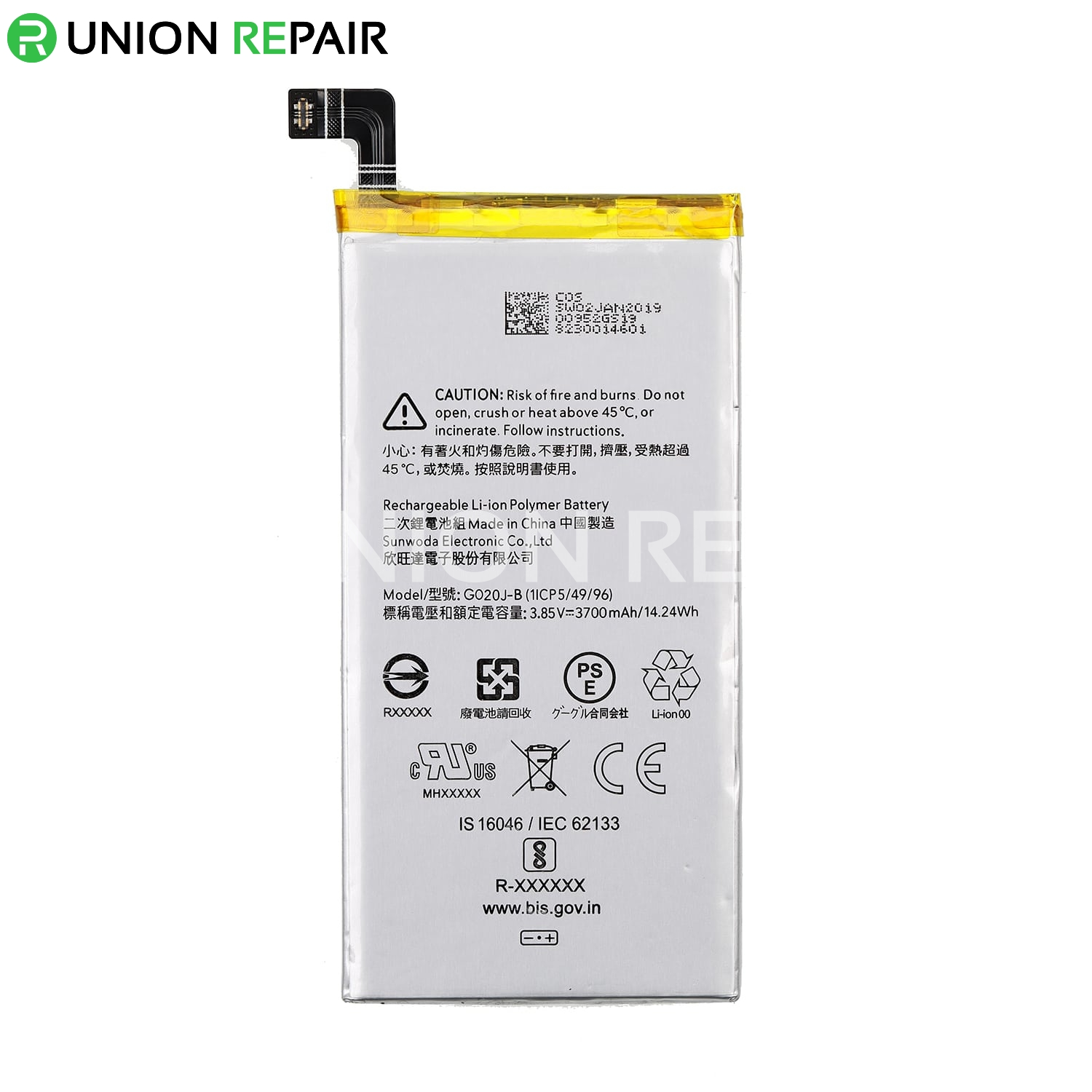 Replacement for Google Pixel 4 XL Battery