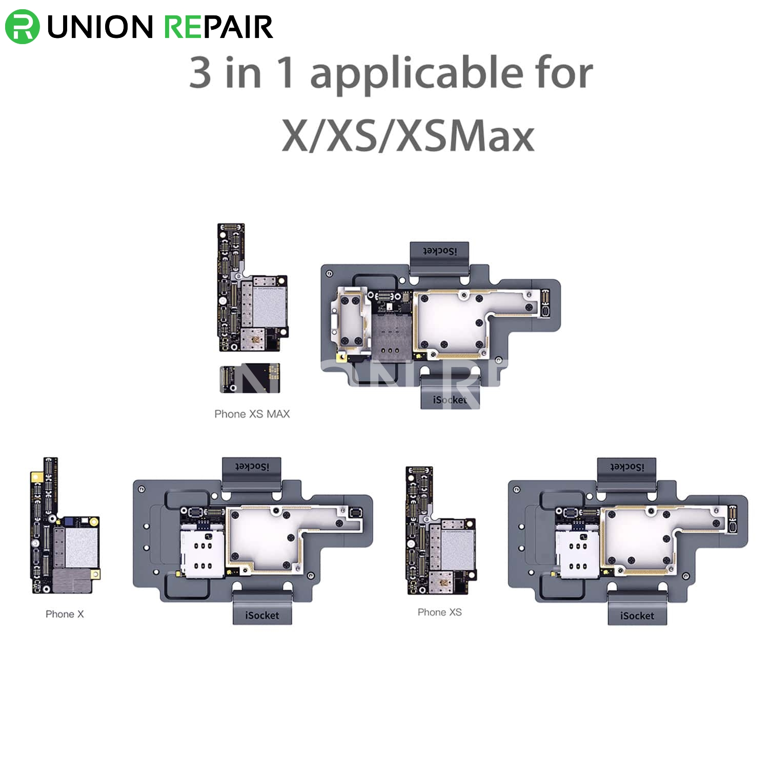 ToolPlus iSocket 3in1 iPhone X/Xs/XsMax Board Test Fixture