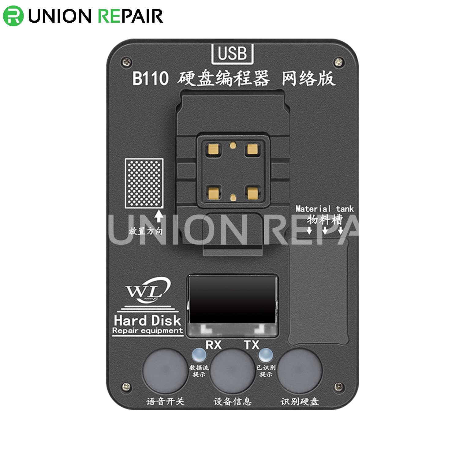 WL B110 Nand Read/Write Programmer For iPhone 8/8P/X//XS/XSMAX/11/11ORO/11ProMax