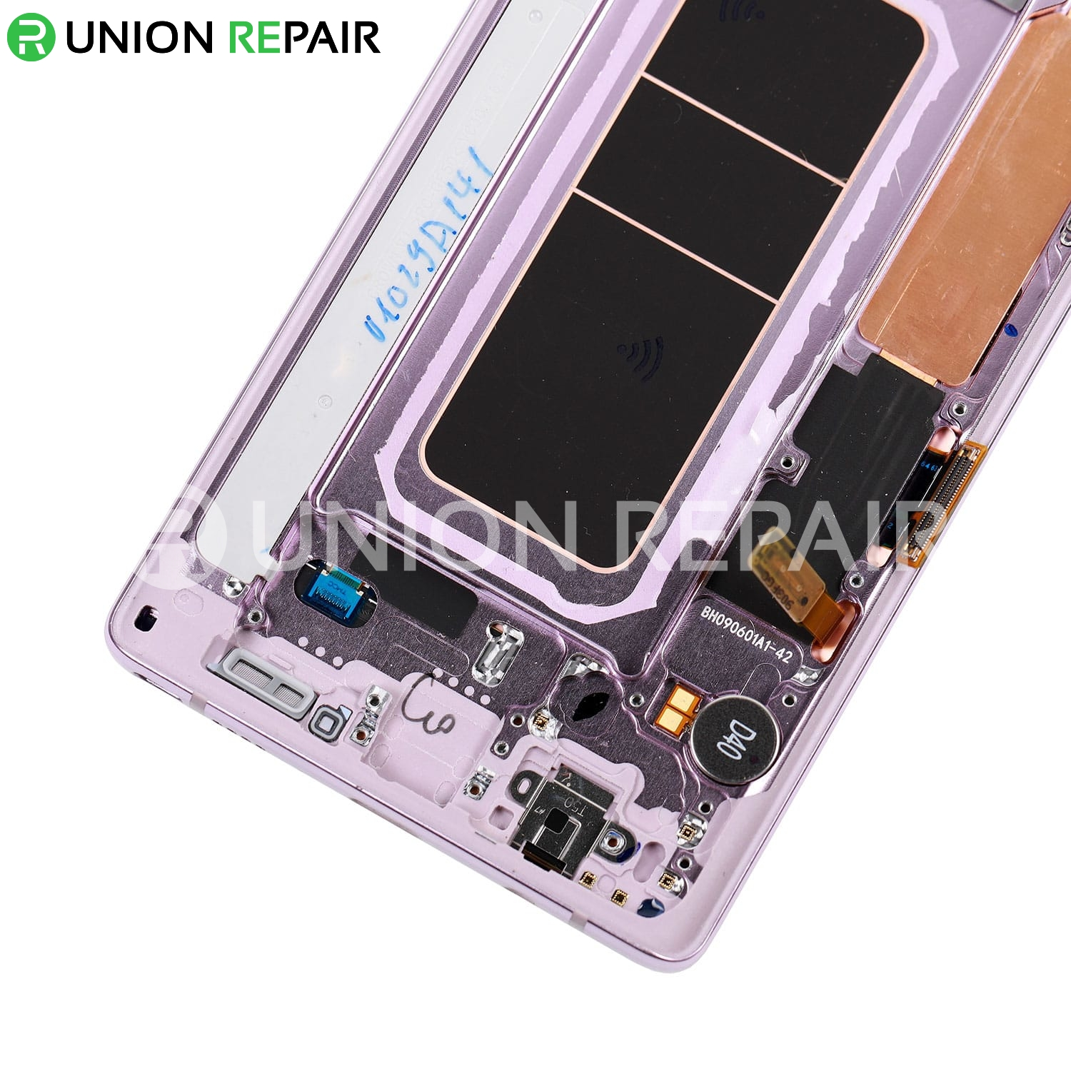 Replacement for Samsung Galaxy Note 9 LCD Screen Assembly with Frame - Pink