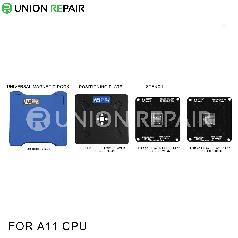 MaAnt Magnetic Reballing Platform for A11 CPU