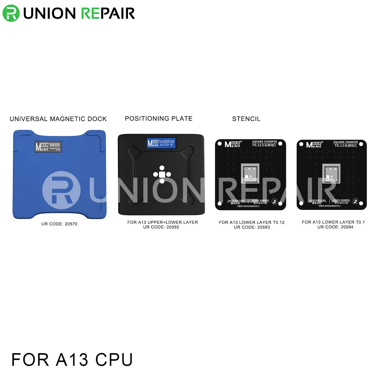 MaAnt Magnetic Reballing Platform for A13 CPU