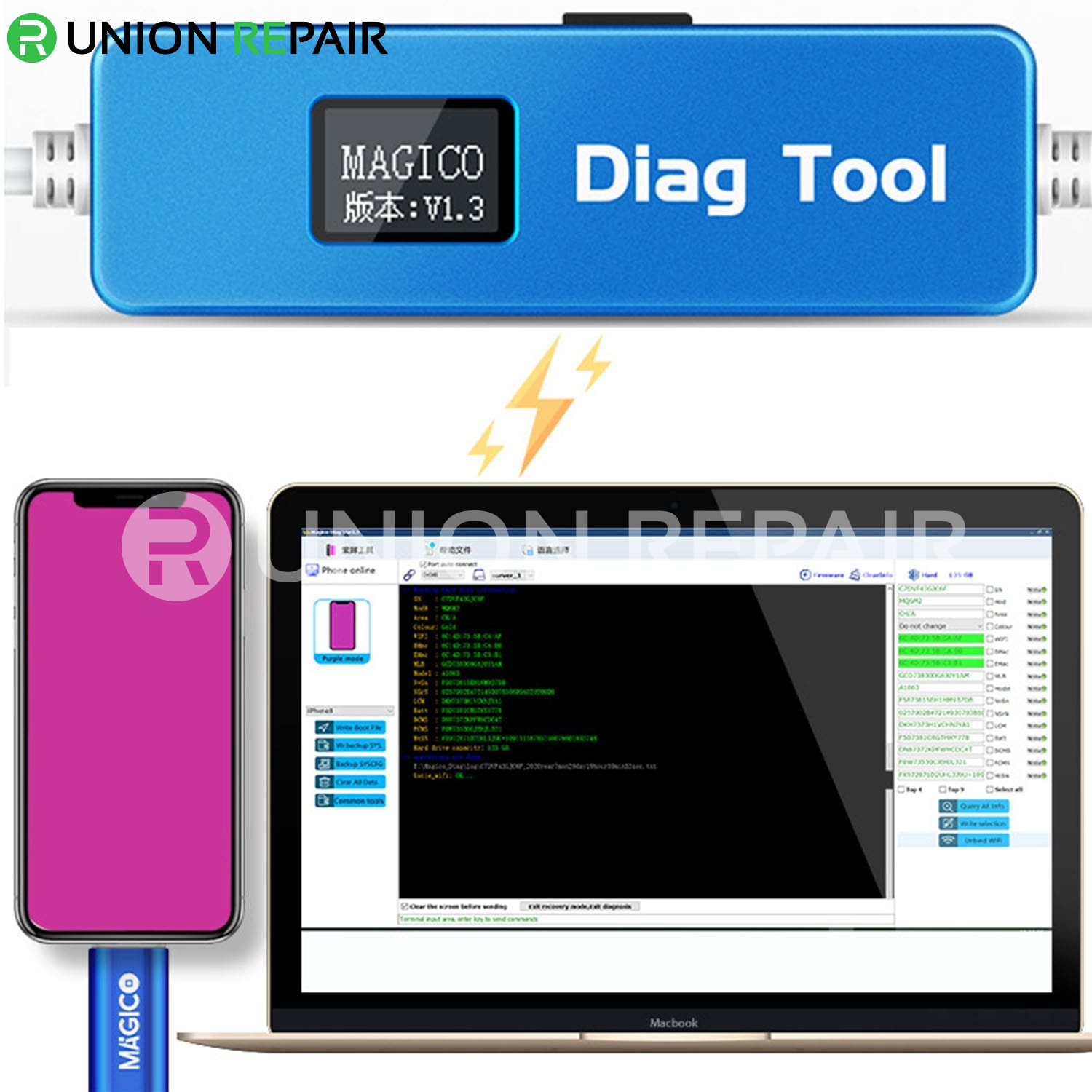 Magico Diag DFU Mode Tool for iPhone iPad