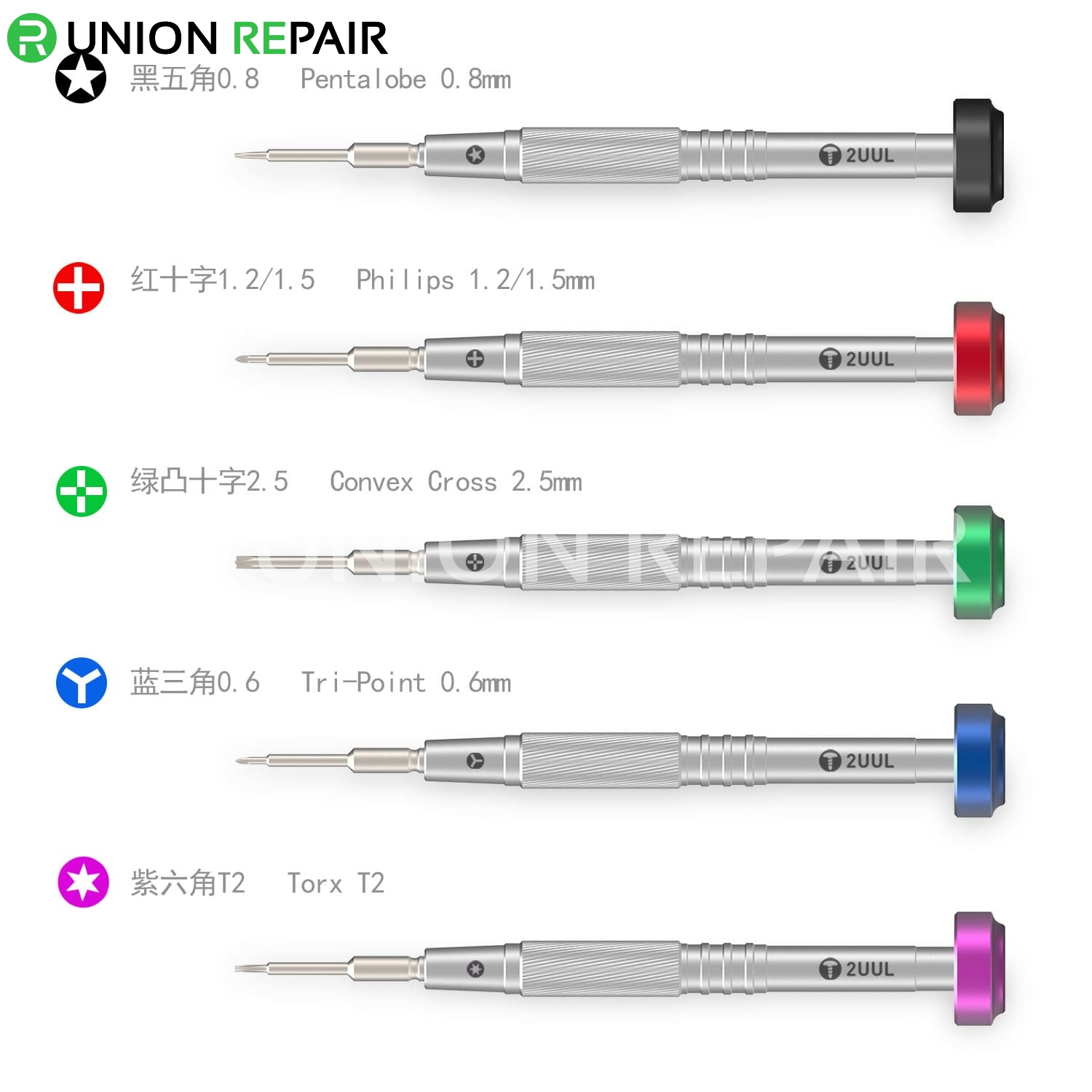 2UUL Everyday Screwdriver for Phone Repair