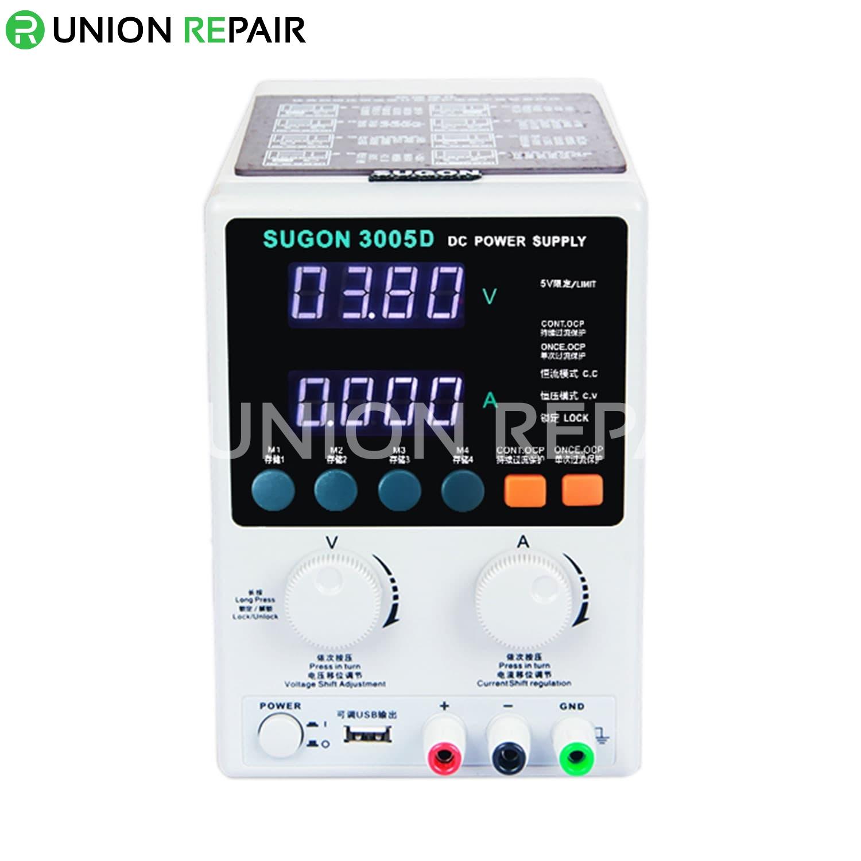 SUGON 3005D Digital Adjustable 30V 5A DC Power Supply