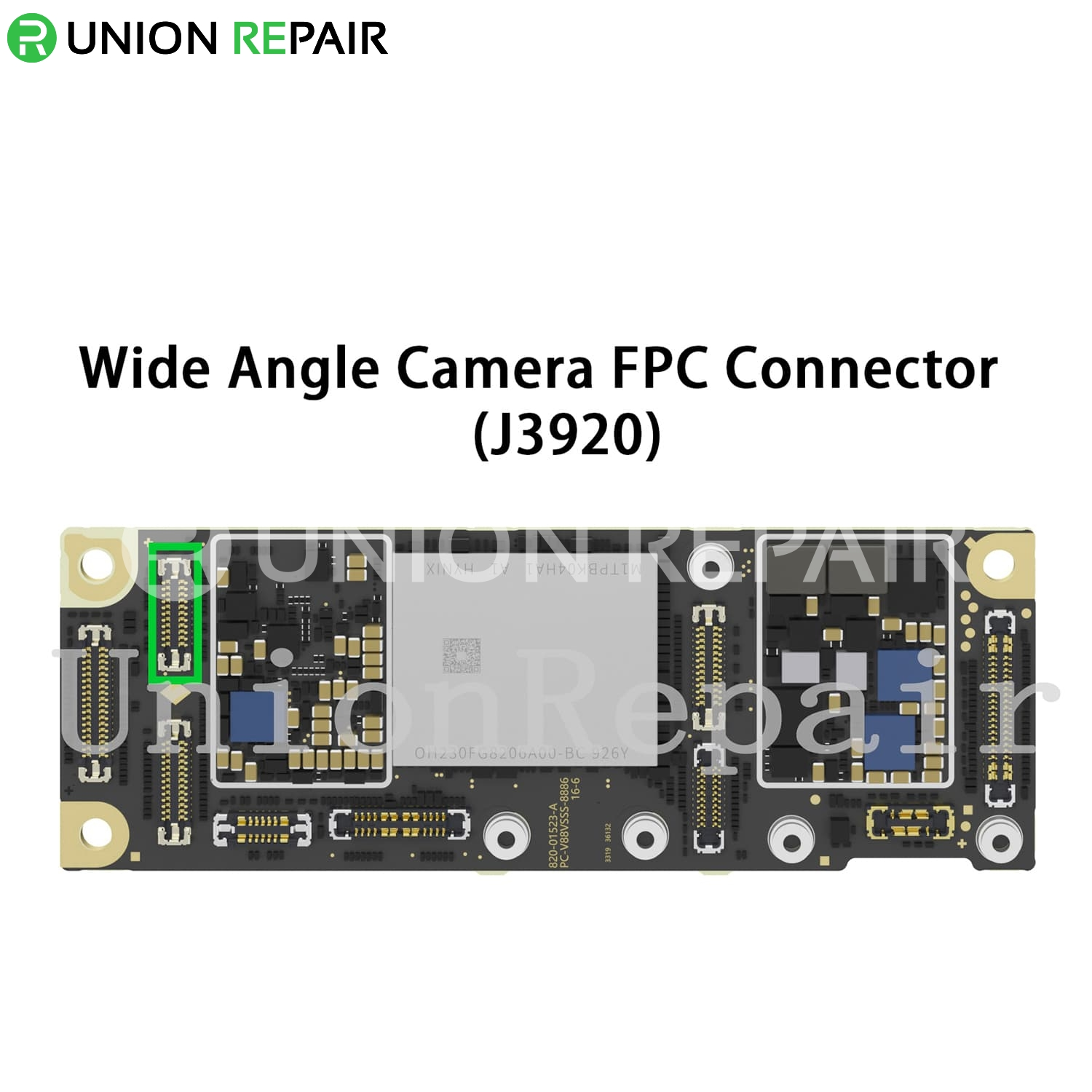 Replacement for iPhone 11 Rear Wide Angle Camera Connector Port Onboard