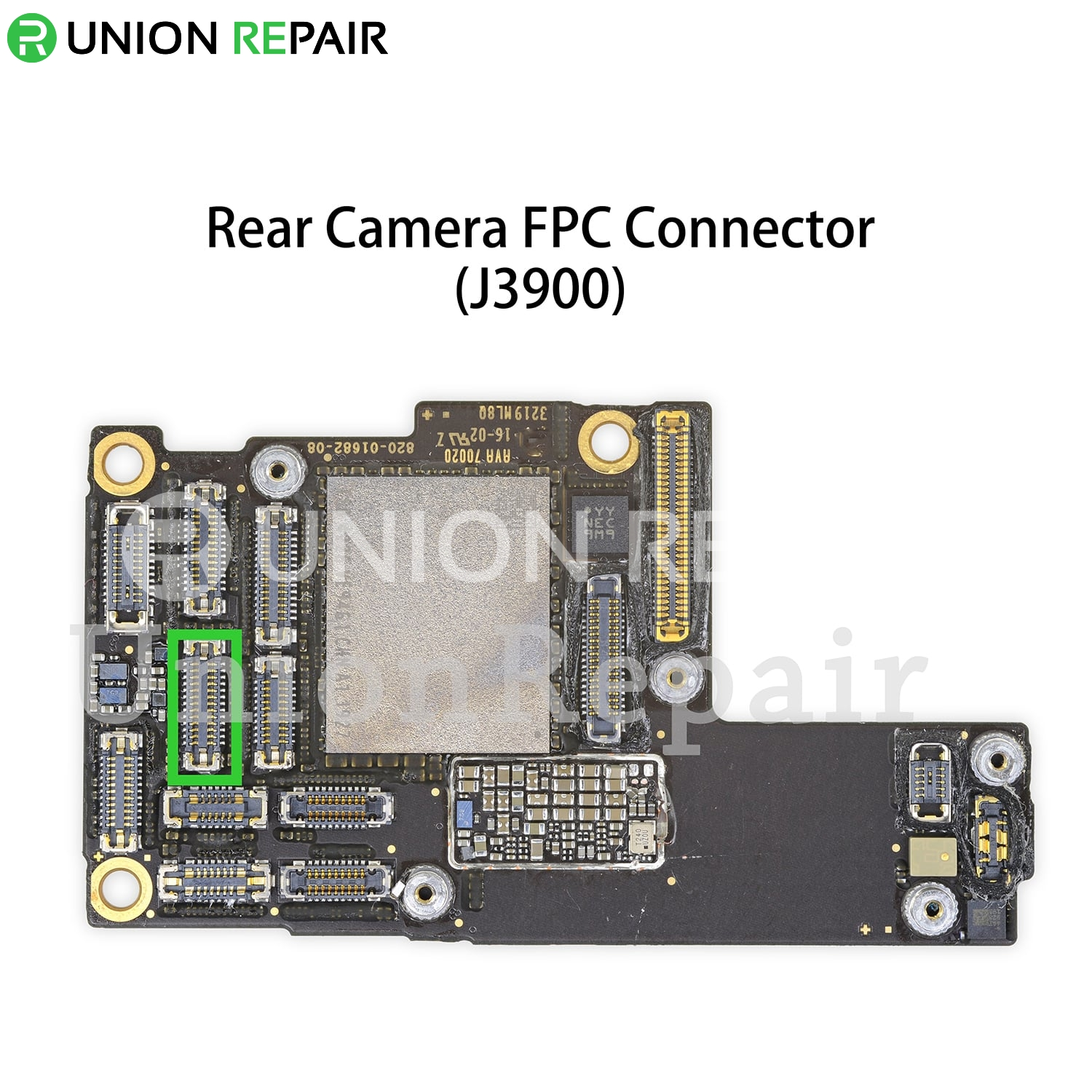 Replacement for iPhone 11 Pro/11 Pro Max Rear Camera Connector Port Onboard