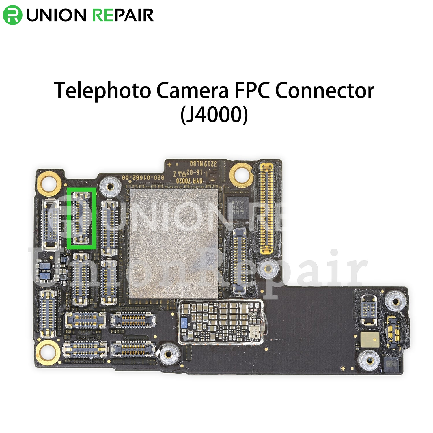 Replacement for iPhone 11 Pro/11 Pro Max Rear Telephoto Camera Connector Port Onboard, fig. 1