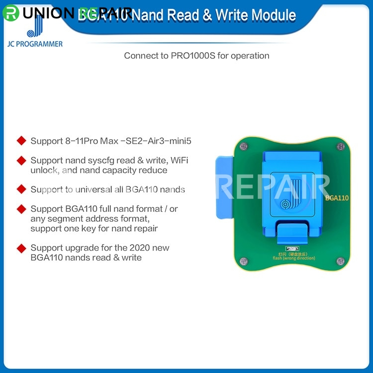 JC BGA110 Module Nand Read Write for iPhone 8-11Pro Max-SE2-Air3-Mini5