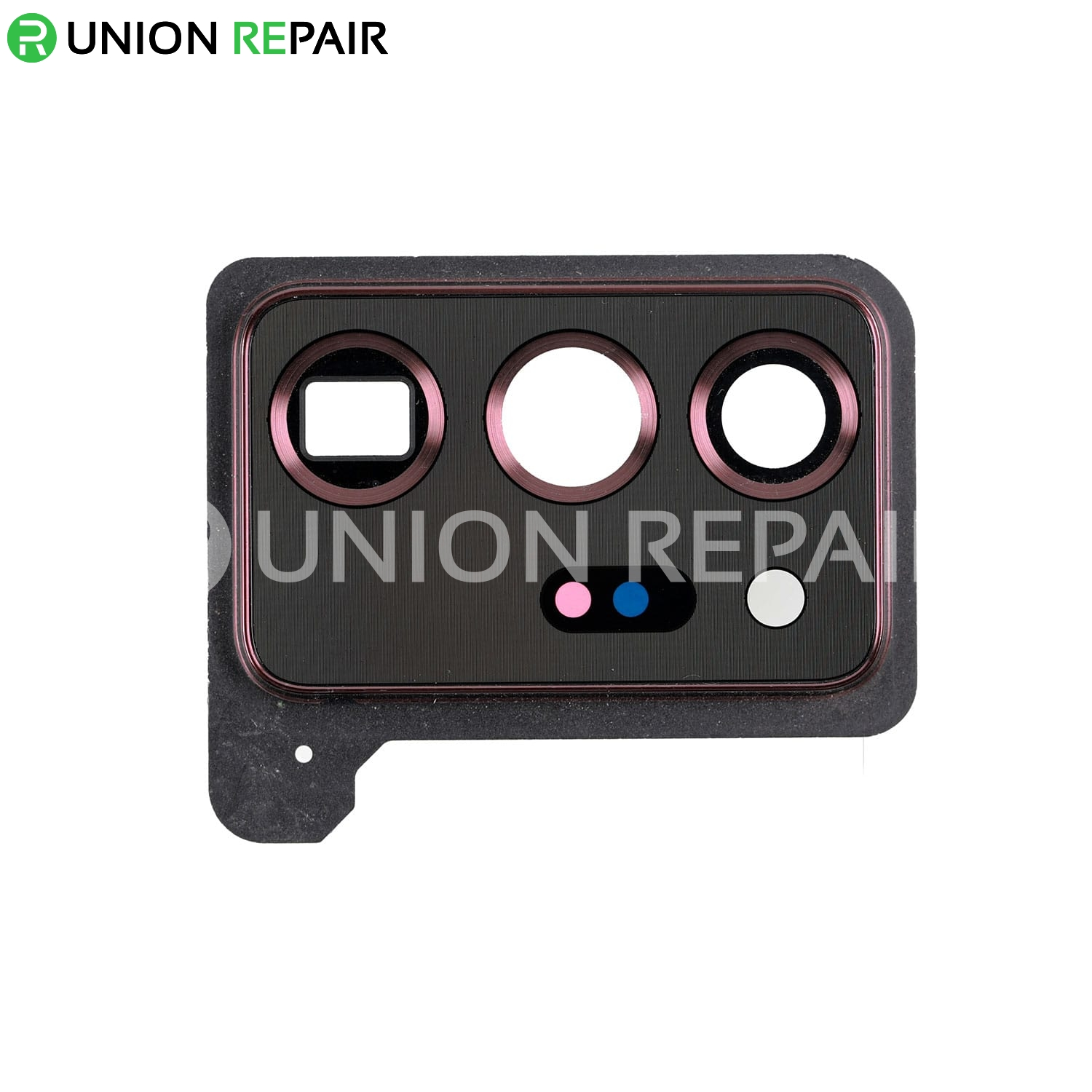 Replacement for Samsung Galaxy Note 20 Ultra Rear Camera Holder with Glass Lens - Mystic Bronze