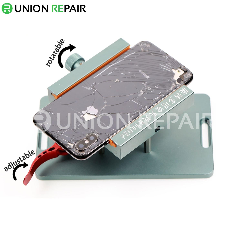 Rotating Multipurpose JIG for Phone Back Cover Repair