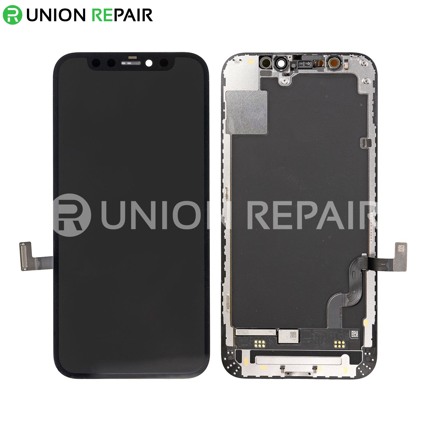 Replacement For iPhone 12 Mini OLED Screen Digitizer Assembly - Black
