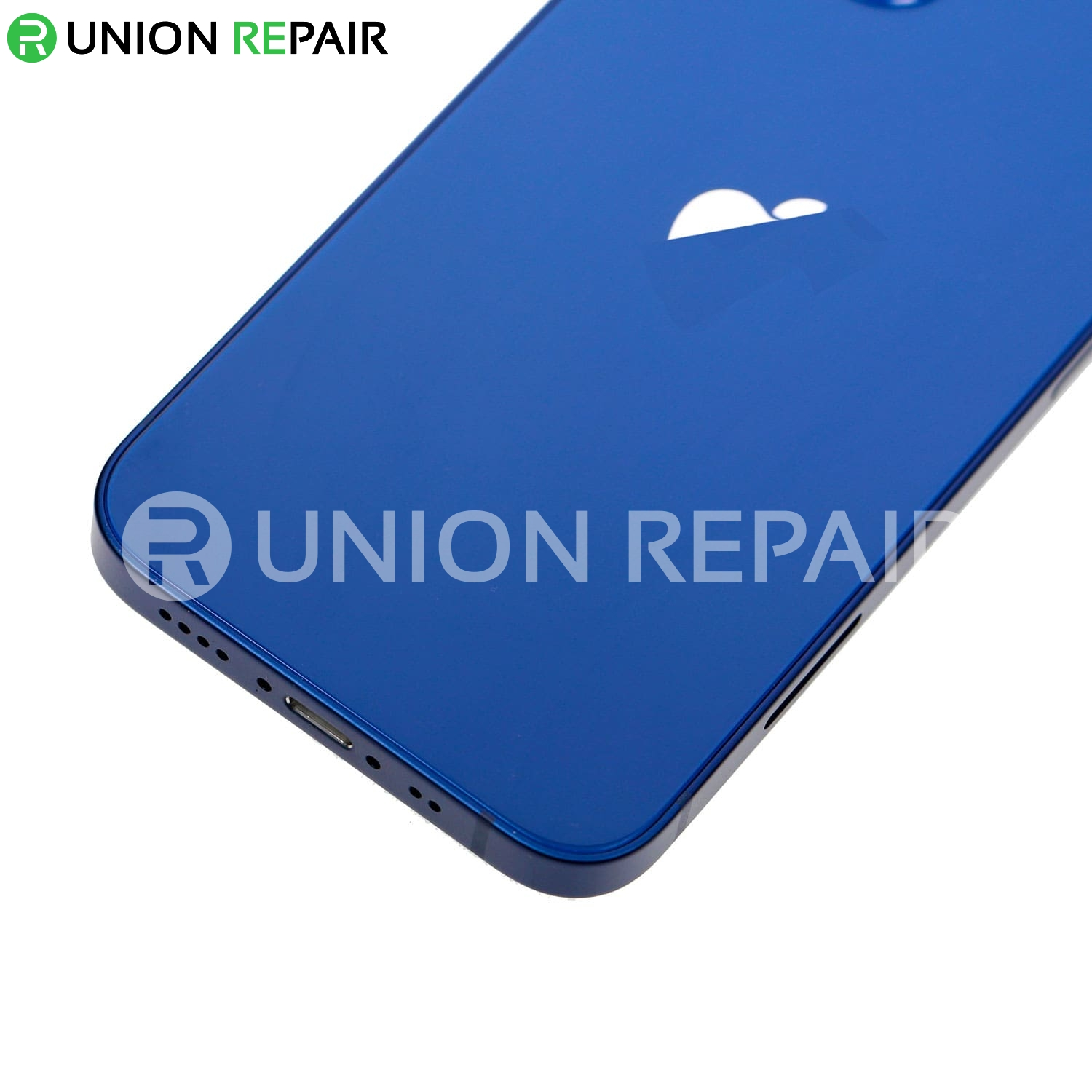 Replacement For iPhone 12 Mini Rear Housing with Frame - Blue