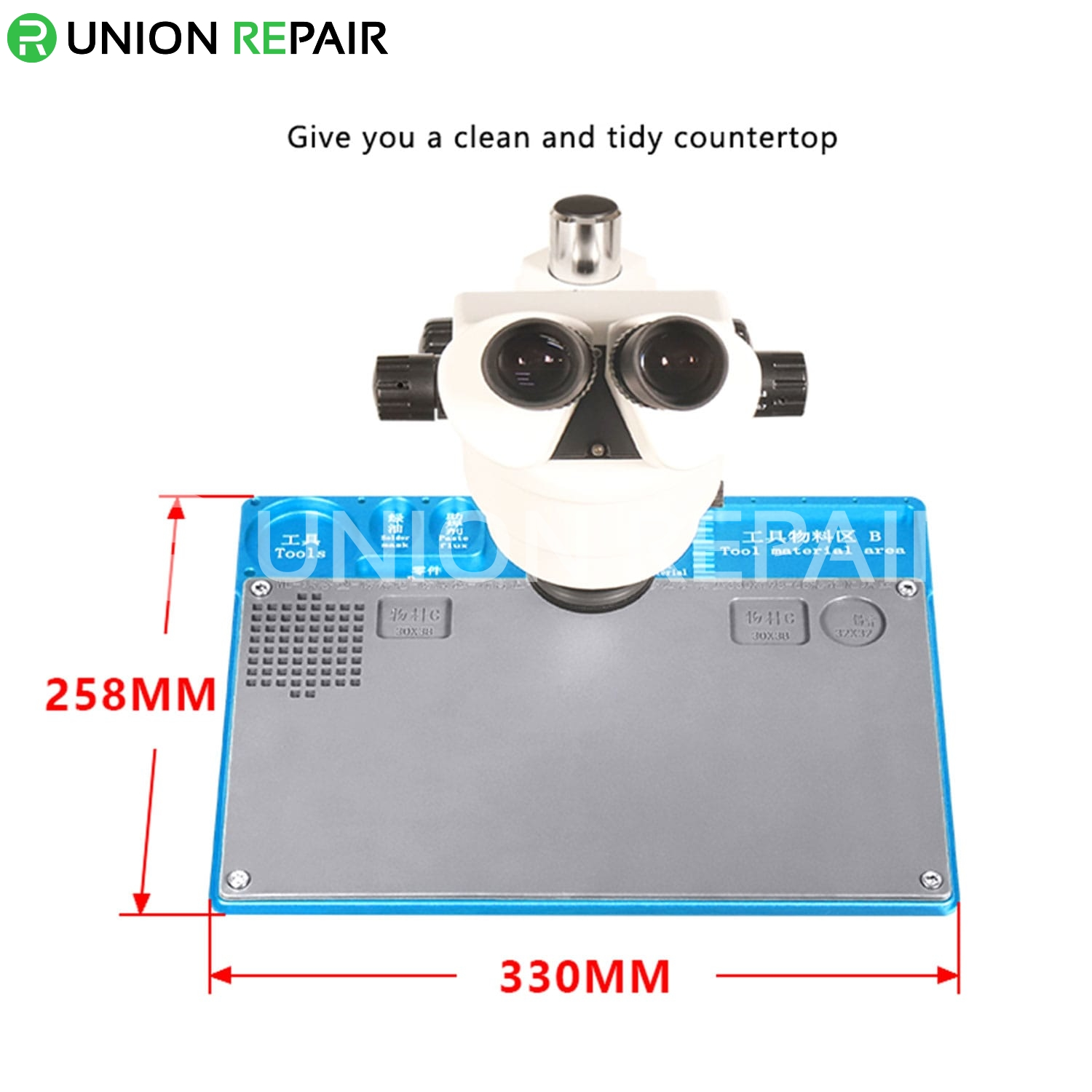 WL Aluminium Alloy Maintenance Platform 330mm x 198mm