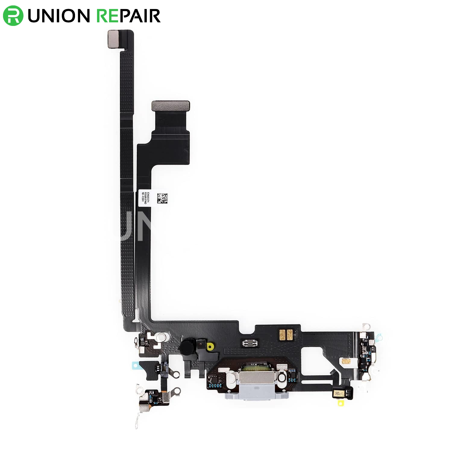 Replacement for iPhone 12 Pro Max USB Charging Flex Cable - Silver