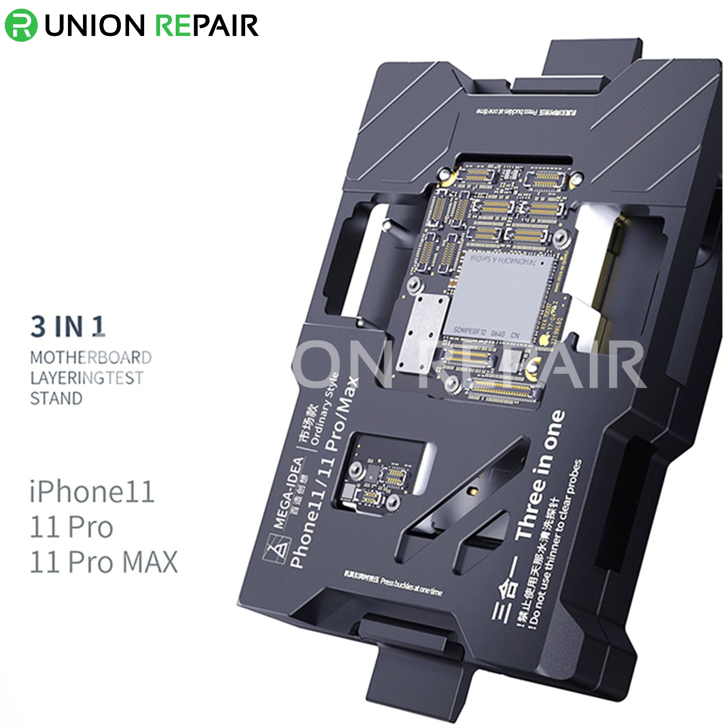 MEGA-IDEA 3in1 Logic Board Function Test Fixture for iPhone 11/11Pro/11ProMax