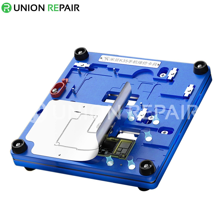 MiJing K35 Multi-Function PCB Board Holder Fixture for iPhone 12/12Mini/12Pro/12ProMax