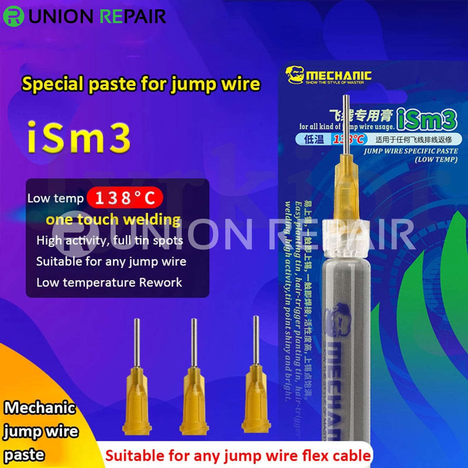 Mechanic iSm3 iSm5 Special Solder Paste for Phone Jumper Wire