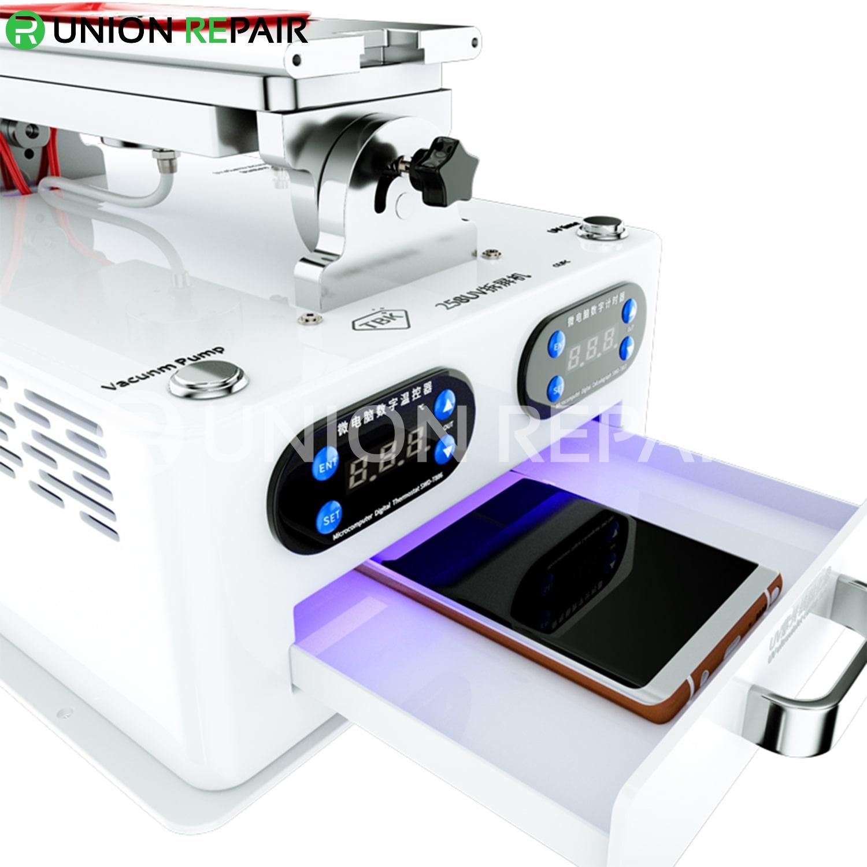 TBK-258 UV Multi-Function LCD Screen Frame Housing Separator Machine