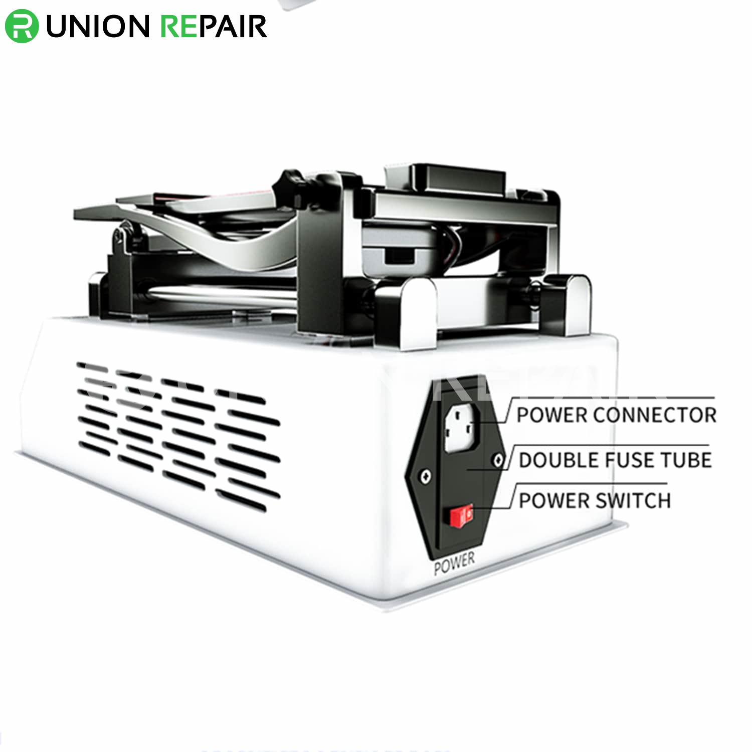 TBK-988X Multi-Function Rotatable LCD Frame Glue Remover Separator Machine