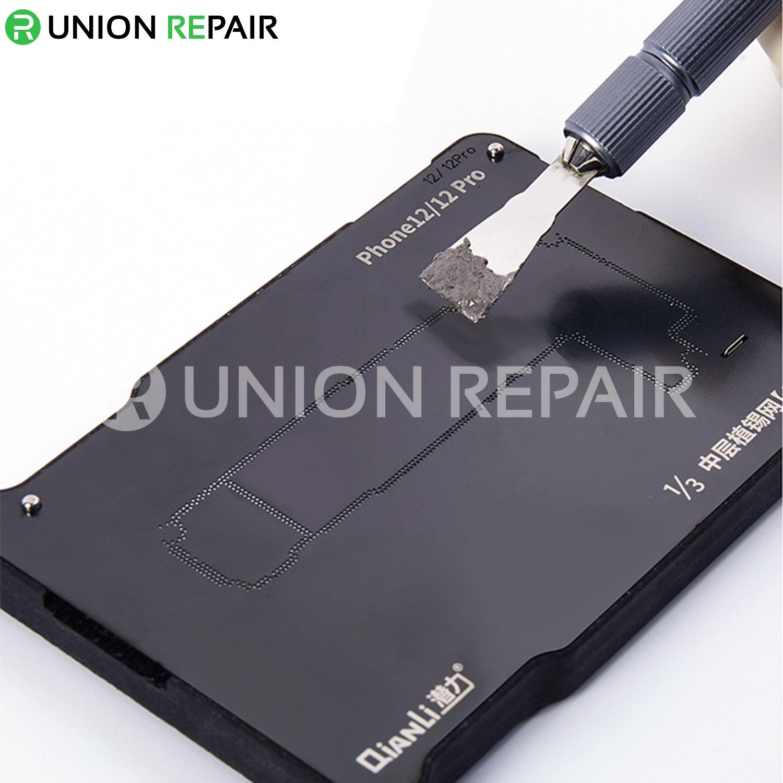 QianLi ToolPlus Middle Frame Reballing Platform for iPhone 12/12Mini/12Pro/12ProMax
