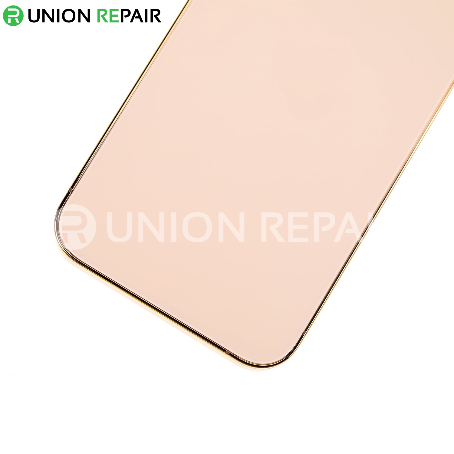 Replacement For iPhone 12 Pro Rear Housing with Frame - Gold