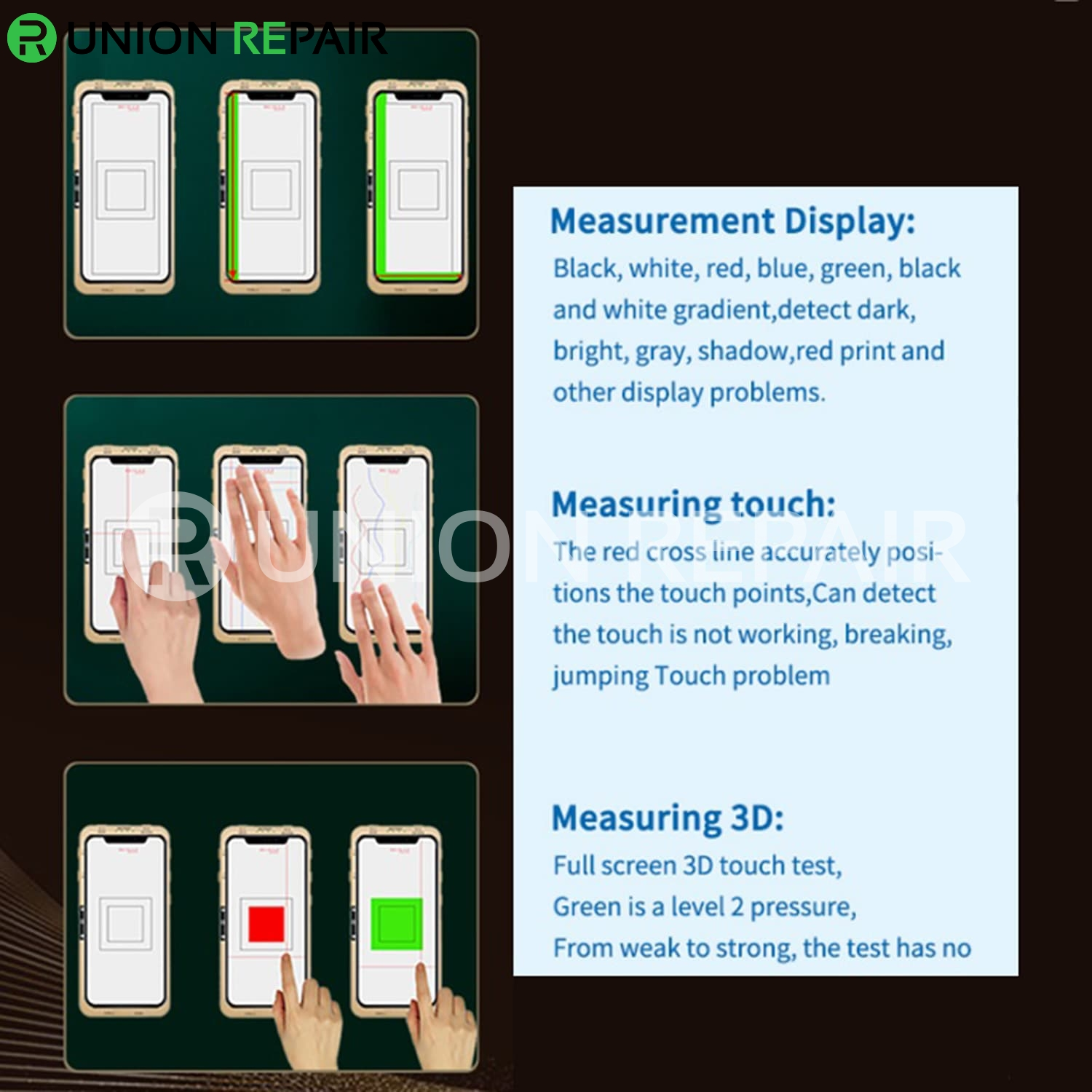 DL S200 iTestBox Display Touch Multi-Function Tester for iPhone 6S-12ProMax