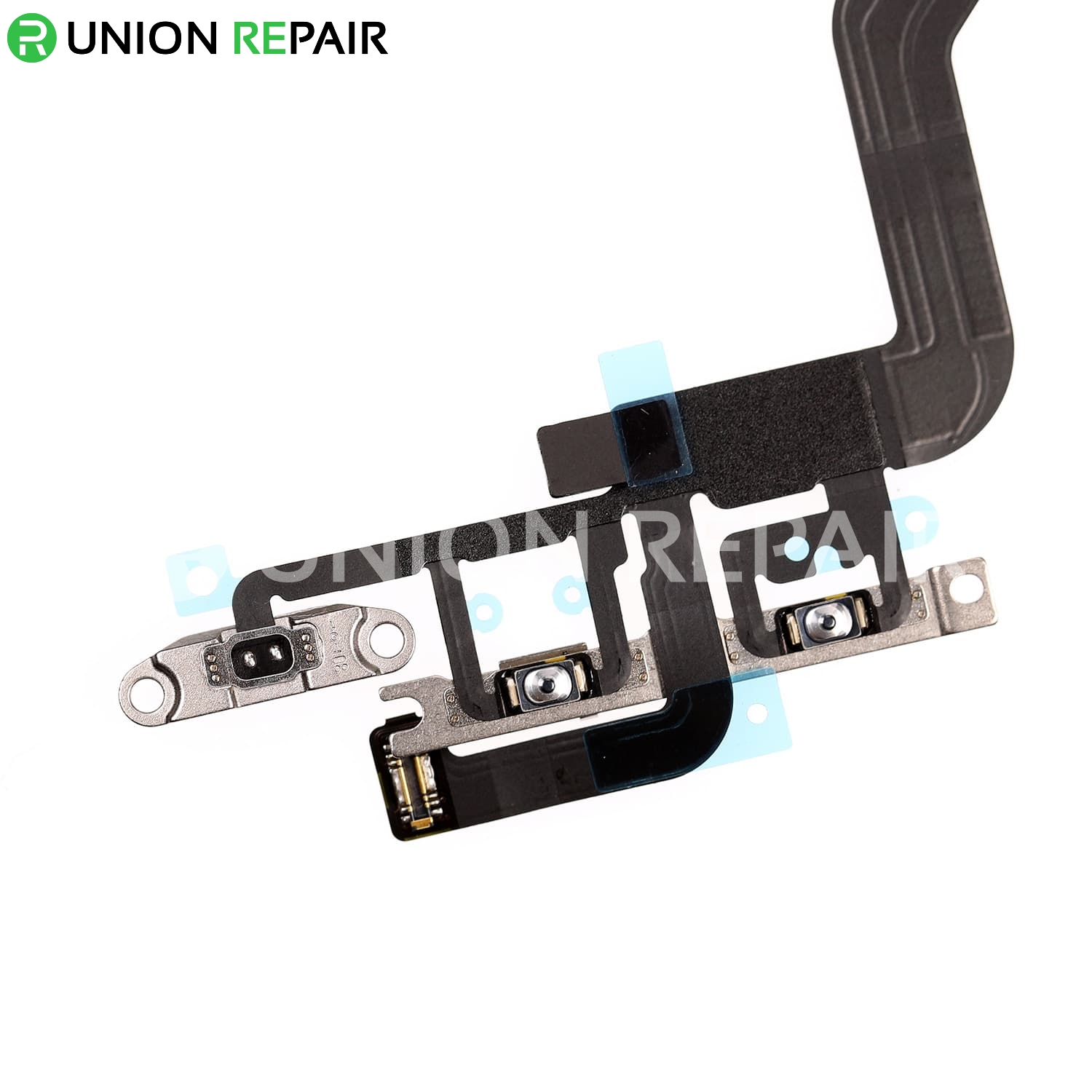 Replacement for iPhone 12 Pro Power Button Flex Cable with Metal Bracket Assembly