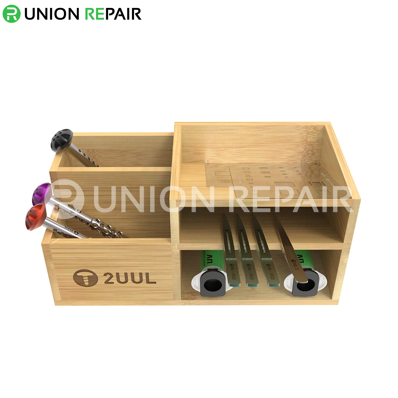 2UUL Bamboo Tool Storage Rack ST02