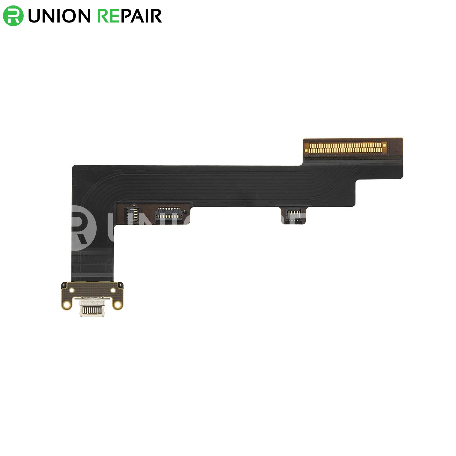 Replacement for iPad Air 4 Charging Connector Flex Cable - Black