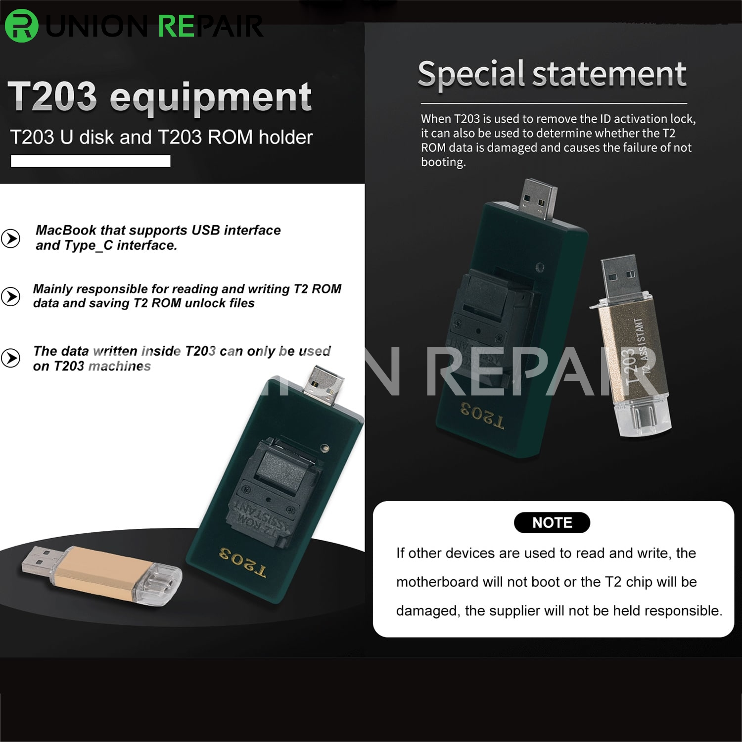 BY-T203 Data Assistant for MacBook Read Backup Repair