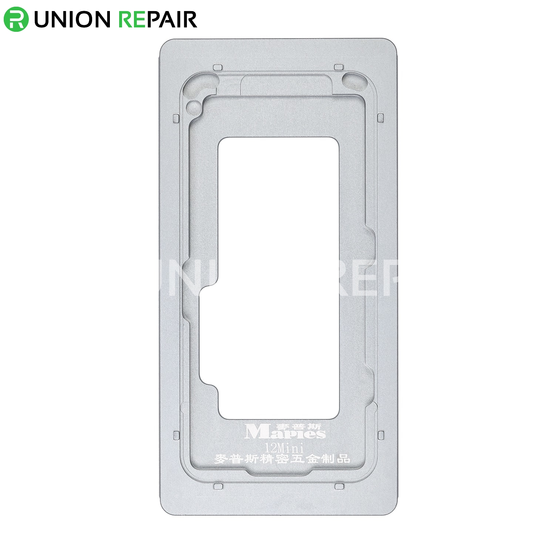 Aluminium Alloy LCD Screen Laminating Positioning Mould for iPhone 12 Mini
