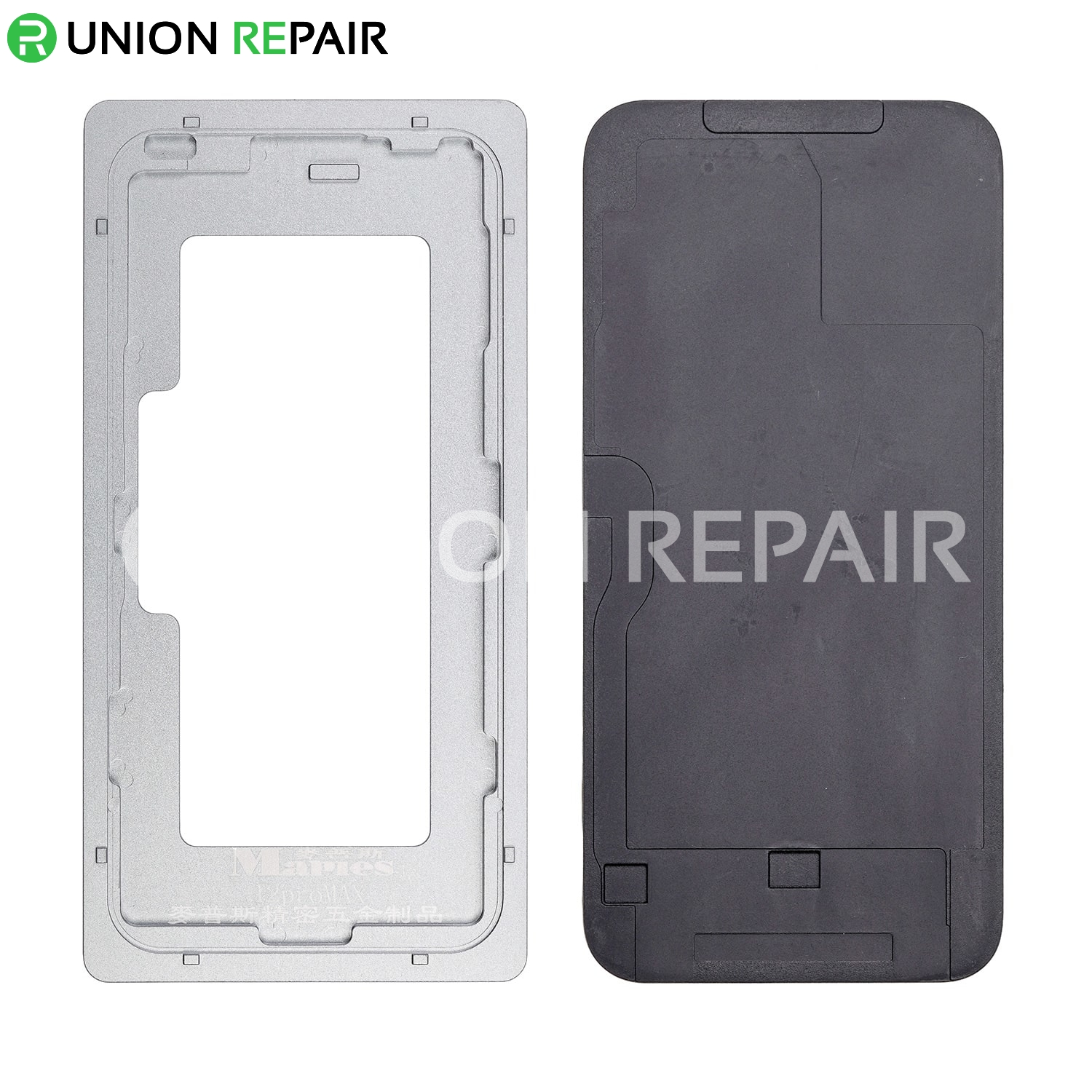 Aluminium Alloy LCD Screen Laminating Positioning Mould for iPhone 12 Pro Max