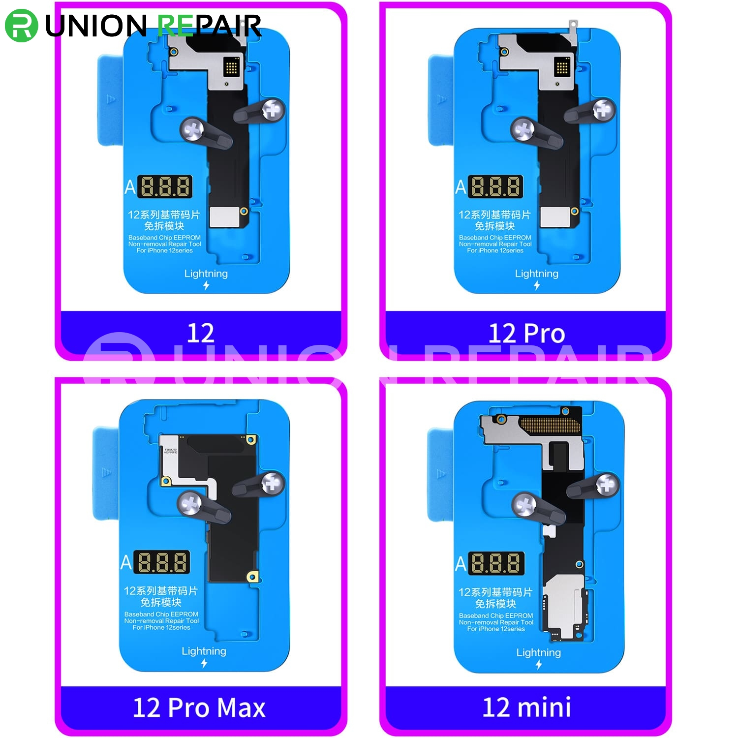 JC Module 4in1 Baseband EEPROM Chip Non-removal for iPhone 12/12Mini/12Pro/12ProMax