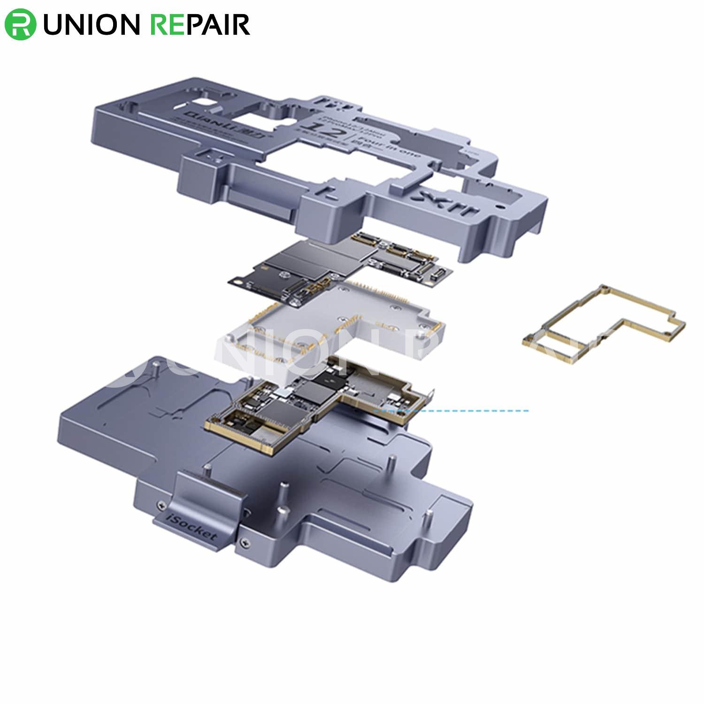 QianLi ToolPlus iSocket 4in1 iPhone 12/12Mini/12Pro/12ProMax Board Test Fixture