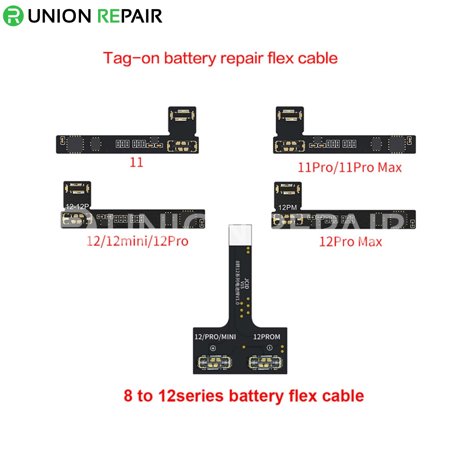 JC V1S Tag-On Battery Repair Cable