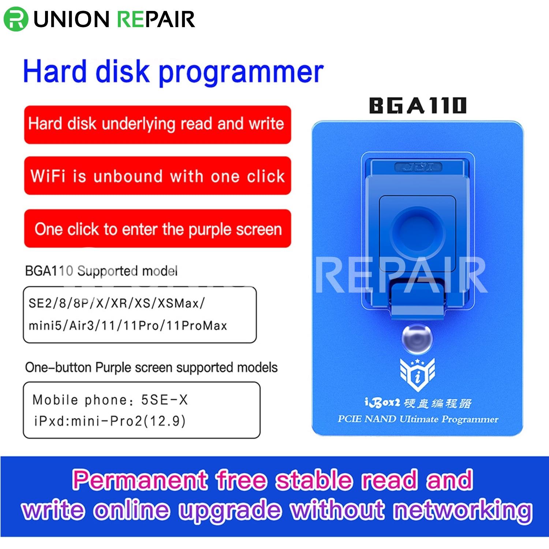 iBox 2 BGA110 PCIE NAND DFU Programmer