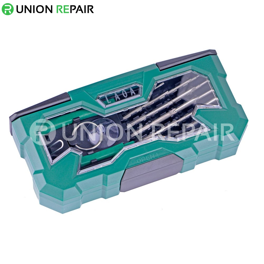 21-Piece Aluminum Precision Screwdriver #LA613125
