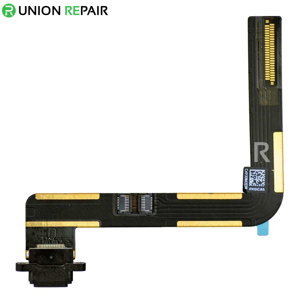 Replacement for iPad Air Dock Connector Flex Cable - Black