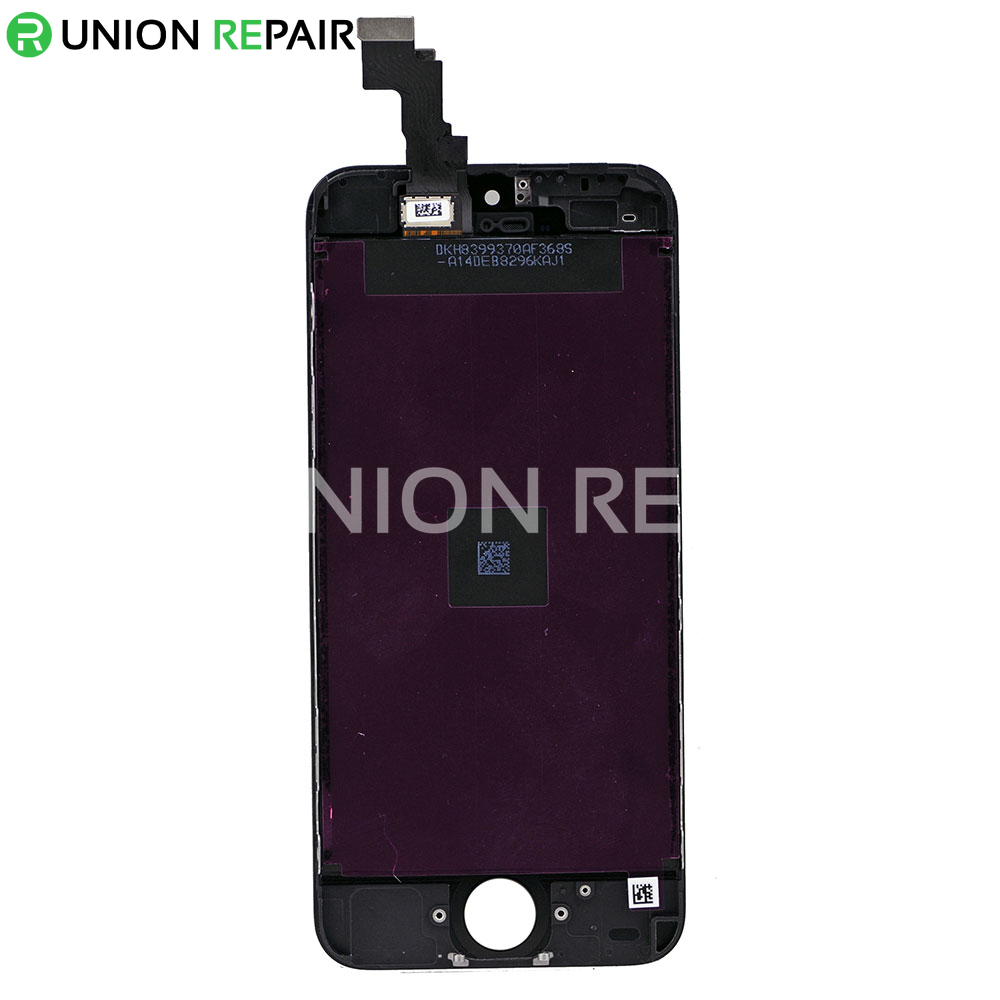 iphone 5c lcd replacement replacement for iphone 5c lcd with digitizer assembly black 14672