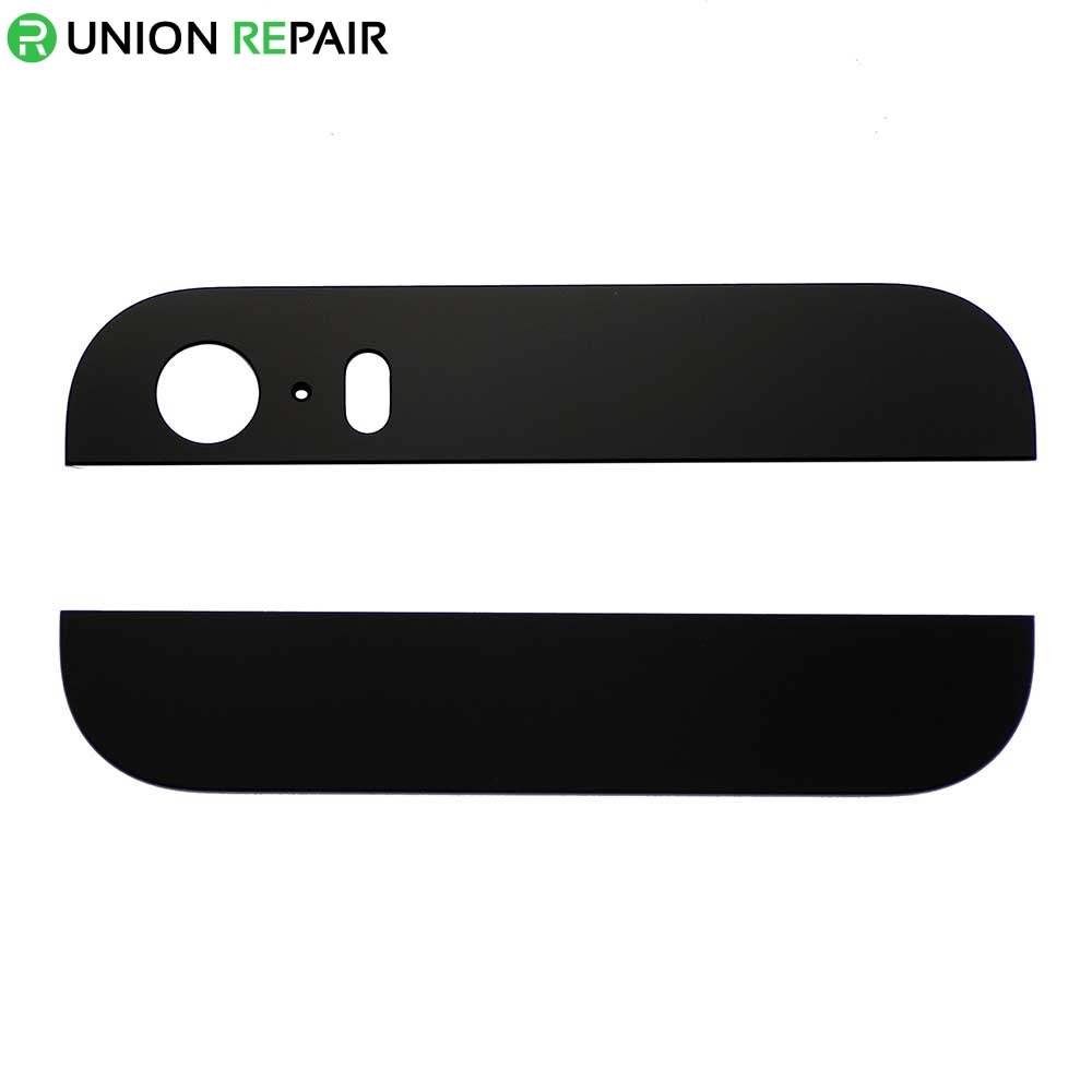 Replacement for iPhone 5S Black Back Glass Cover