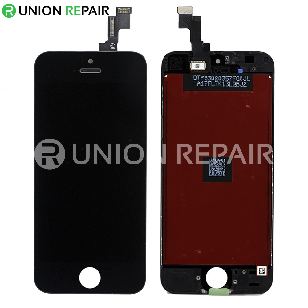 iphone 5s digitizer replacement replacement for iphone 5s lcd with digitizer assembly black 14788