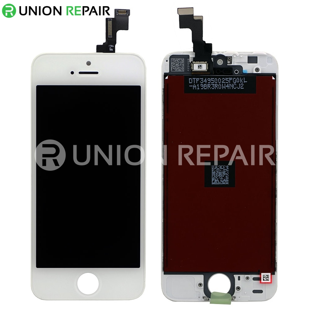 iphone 5 digitizer replacement replacement for iphone 5s lcd with digitizer assembly white 6694