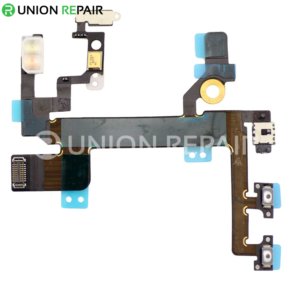 Power /& Volume for Apple iPhone 5C Flex Cable with Glue Card CDMA /& GSM