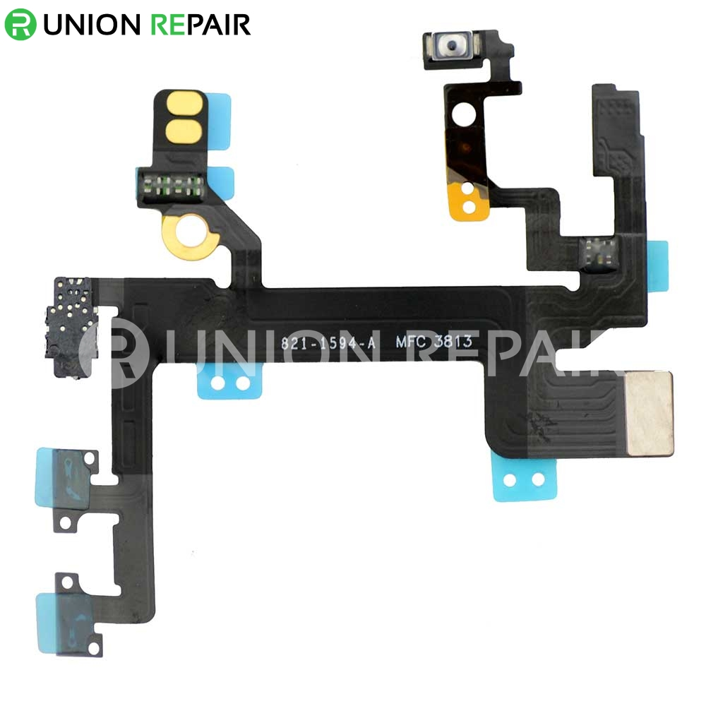 Replacement For Iphone 5s Power On Off Control Flex Cable
